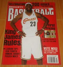 LEBRON JAMES BECKETT BASKETBALL #200 FEB. '07 COLLECTIBLE MAGAZINE