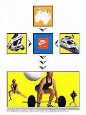 PUBLICITE ADVERTISING  1991   NIKE AIR   SERGEY BUBKA