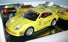 Bburago 1/18 Porsche GT3 Cup Deutsche Post Business Club Sondermodell OVP #1068
