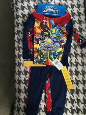 "NEW WITH TAGS 2 PAIRS BOYS SIZE ""4"" SKYLANDERS COTTON PAJAMAS LONG SLEEVED 4 pc"