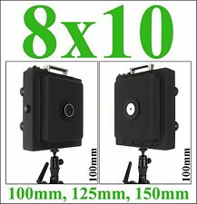 8x10 Large Format Pinhole Camera With 100mm, 125mm or 150mm Focal Length.