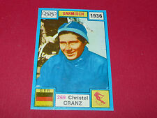269 C. CRANZ 1936 HIVER PANINI OLYMPIA 1896-1972 JEUX OLYMPIQUES OLYMPIC GAMES