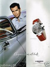 Publicité advertising 2002 La Montre Longines Dolce Vita