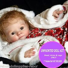 Jesse, reborn doll unpainted kit to make your own reborn baby doll, super cute
