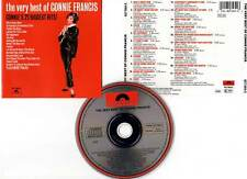 "CONNIE FRANCIS ""The Very Best Of"" (CD) 1986"