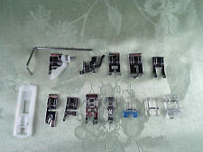 BRAND NEW Set of 14 Snap on Presser Feet fits Low Shank Husqvarna Viking Sewing