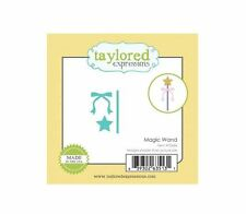 Taylored Expressions Little Bits Die(s) Set ~ MAGIC WAND  Princess  ~TE666