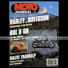 MOTO JOURNAL N°907 DUCATI 450 SCRAMBLER HONDA RC 30 HARLEY-DAVIDSON STORY 1989
