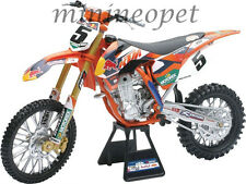 NEW RAY 49463 SUPERCROSS RED BULL KTM 450-SXF DIRT BIKE #5 1/6 RYAN DUNGEY