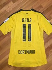 #11 Reus Borussia Dortmund Player Issue Home soccer jersey XL