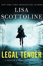 Rosato and Associates: Legal Tender by Lisa Scottoline (2016, Paperback)