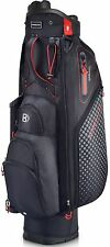 Bennington Cartbag QO 9 Lite Waterproof Farbe: Black/Red Neu!