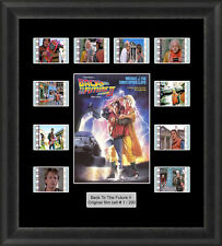 BACK TO THE FUTURE 2 MOUNTED FRAMED 35MM FILM CELL MEMORABILIA