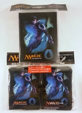 80 Ultra Pro Sleeves + Deckbox Set - Mana 4 Blue Jace