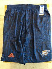 Adidas NBA Shorts Oklahoma City Thunder Team Blue sz L