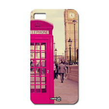 CUSTODIA COVER CASE FOTO VINTAGE BIG BEN LONDRA LONDON PER iPHONE 5 5S S
