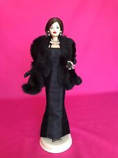 Vintage Mattel Rare 1991 Limited Edition GIVENCHY Black Gown Barbie Doll