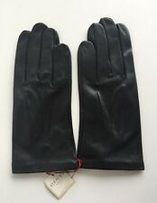 DENTS Keswick Silk-Lined Leather Gloves Size M/9 RRP £70