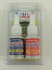 RapidFix Professional Adhesive For Metal,Rubber,Plastic.Cold Welds in seconds!
