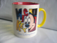 Large Walt DISNEY World MICKEY Mug Coffee Tea