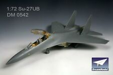 Dream Model 1/72 #0542 SU-27UB Flanker Detail Up Etching Parts for Trumpeter