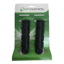 Pro Series Bike Handlebar Bicycle Scooter Replacement Grips no Glange BLACK