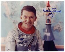 Astronaut Wally Schirra Signed Photo Autographed