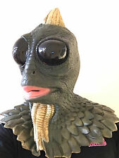 Lagoon Creature Monster Mask Animal Lizard Halloween Horror Fancy Dress Costume