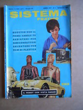 Sistema Pratico n°1 1968  - rivista elettronica     [D20]