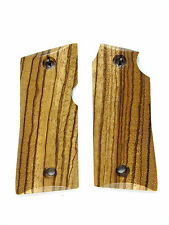 Zebrawood Colt Mustang Grips