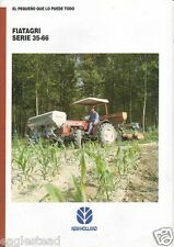 Farm Tractor Brochure - Fiatagri - 35-66 - New Holland - 1995 (F1967)