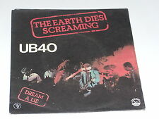 45 tours SP - UB 40 - THE HEARTH DIES SCREAMING - 1980