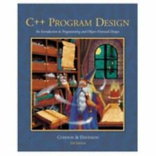 C++ Program Design: An Introduction to Programming and Object-Oriented Design