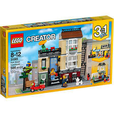 LEGO Park Street Townhouse CREATOR 31065 City Cafe Suburban Home 3 in 1 NEW
