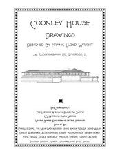 Frank Lloyd Wright Coonley House Drawings - Plan Book
