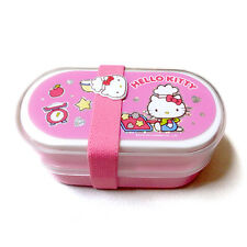 Hello Kitty Bento  Double Lunch Box Case  150x80x70mm