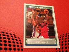 #102 Mike James / Minnesota Timberwolves Topps 2006 trade card / NBA basketball