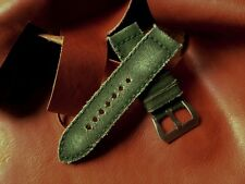 Peter Gunny Strap Canvas Verte 26/26 mm Band