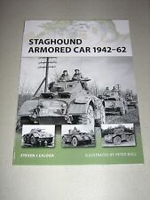 New Vanguard: Staghound Armored Car 1942-62 159 by Steven J. Zaloga (2009,...