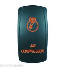 ORANGE 2 POSITION ROCKER SWITCH LASER ETCHED 20A 12V AIR COMPRESSOR