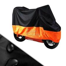 XXXL BL/OR Large Motorcycle Cover For Honda Goldwing GL 1800 1500 1200 1100