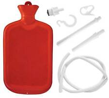 HOT WATER BOTTLE KIT DOUCHE/ENEMA/ACHES/PAINS