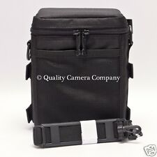 f.64 f64 4x5 Cut Film Holder Case (Up to 6) (Black) w/ Shoulder Strap NEW