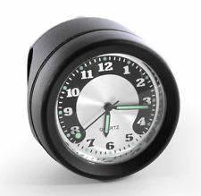 Motorrad Lenkeruhr Metall schwarz Big Uhr  für Harley Softail Chopper