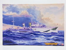 LOT 32152 Mastercraft 002985 HMS HARVESTER Navy Destroyer Bausatz 1:500 NEU OVP