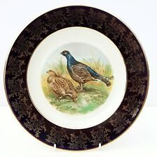 Vintage Weatherby Falcon Ware Durabilty Dinner Plate Country Grouse