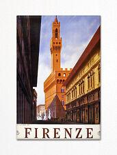 Florence Italy Firenze Advertising Art Fridge Magnet