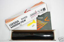 "2Ply Dyed Charcoal Window Tint Film 50% VLT 40"" x 100 feet Roll Auto Home Office"