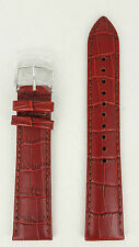 Seiko Brown Leather Calf E 20mm Watchband SSB069 SSB143 SGEG09 Watch Strap 6T63