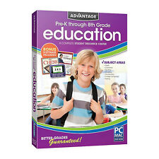 Encore Advantage Education Pre-K through 8th Grade w/ Bonus Software Included